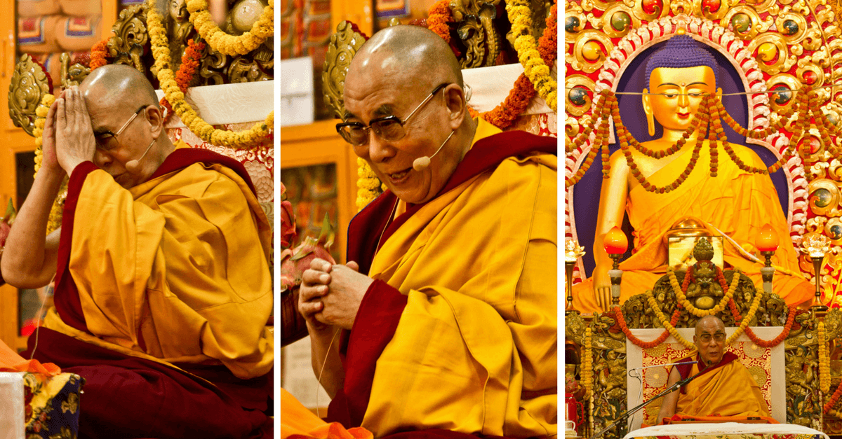 Далай-лама: учения в Риге в октябре 2016